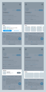 Mockup: New Twitter Business Profile Customizations