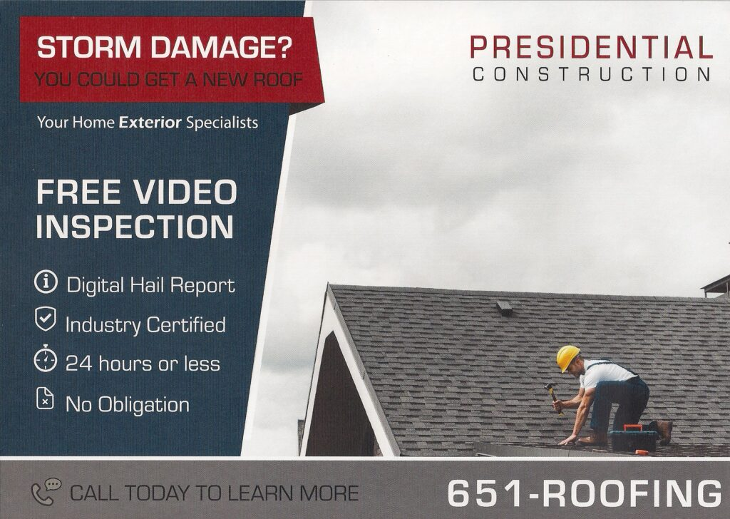 Roofing - Direct Mail
