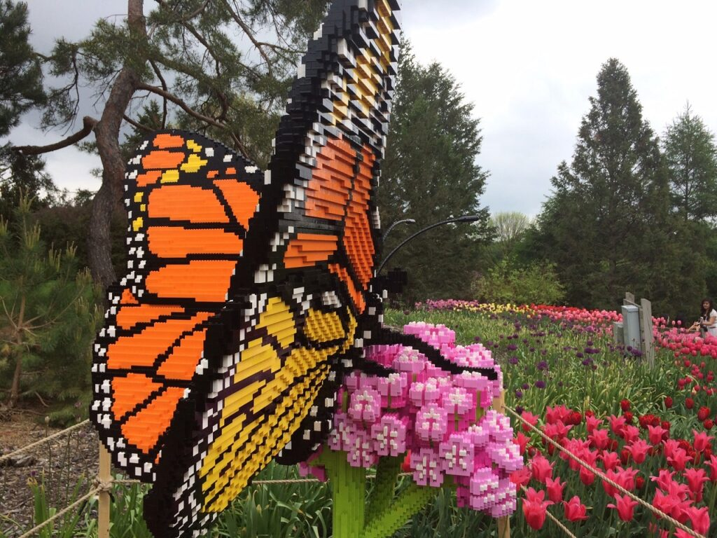 Photo of Sean Kenney sculpture - Monarch Butterfly