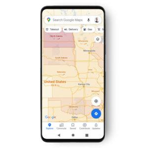 COVID 19 Google Maps