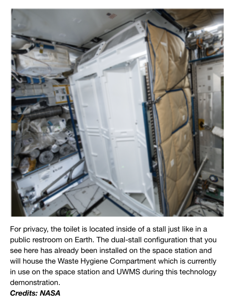NASA-Space-Toilet-Privacy-Booth