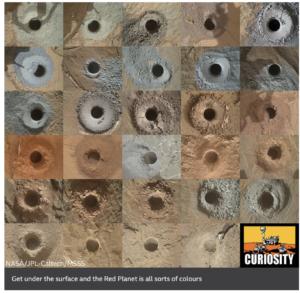 Mars Soil Samples