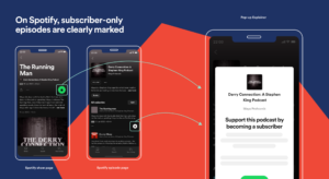 Screenshots: Spotify Subscriptions