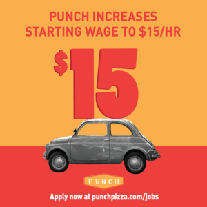 Infographic: Punch Pizza Recruiting