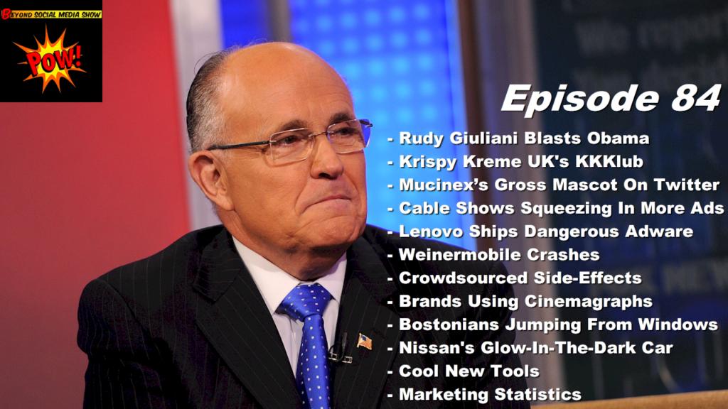 Rudy Giuliani Blasts Barack Obama